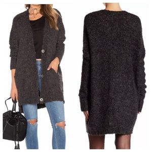 Free People Oversized Slouchy Boucle Sweater